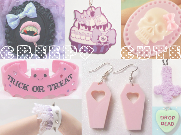 I Love The Whole Creepy Cute Bittersweet Pastel Goth Thing It Seems To Sum Me Up Perfectly Here Are A Few Accessories Match Theme S