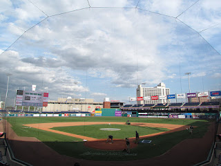 Home to center, Dunkin' Donuts Park