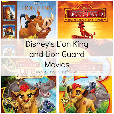 Disney's Lion King and Lion Guard Movies