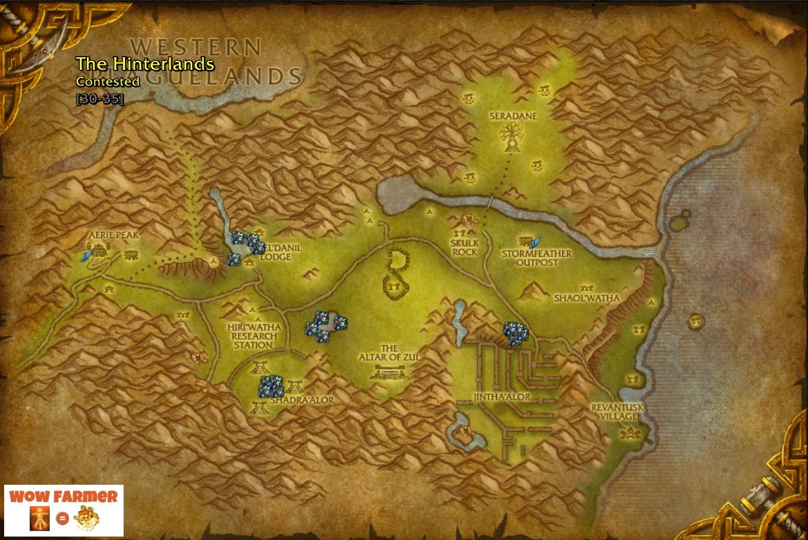 World of warcraft herb locations