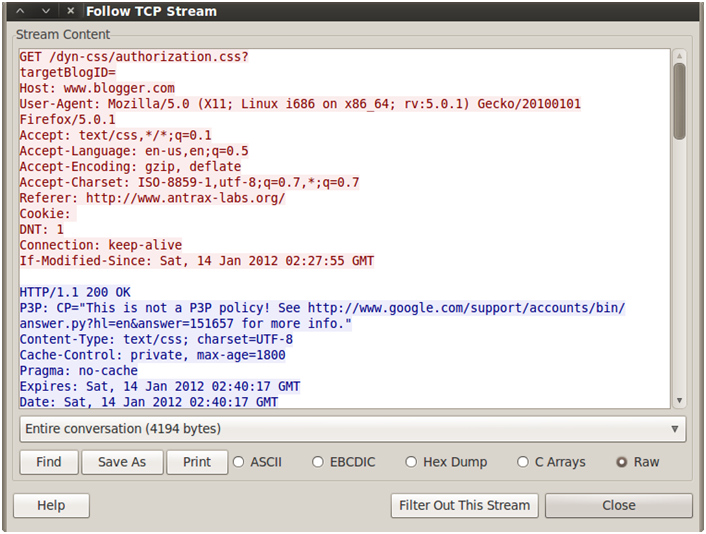 Sniffing con Wireshark 28