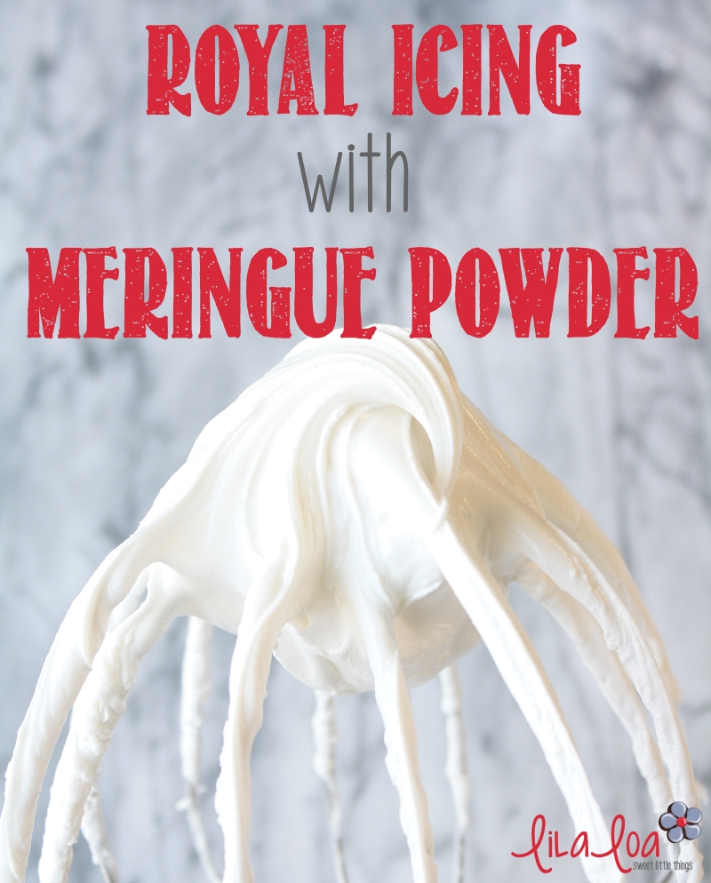Royal Icing Recipe With Meringue Powder