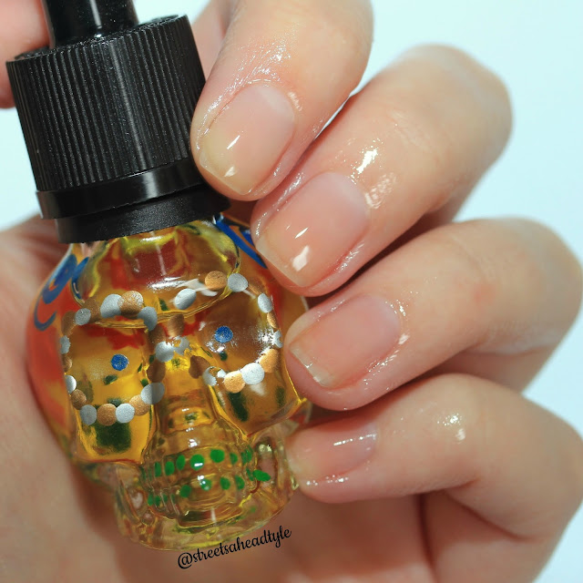 Cuter Cuticles Pan de Muerto Cuticle Oil