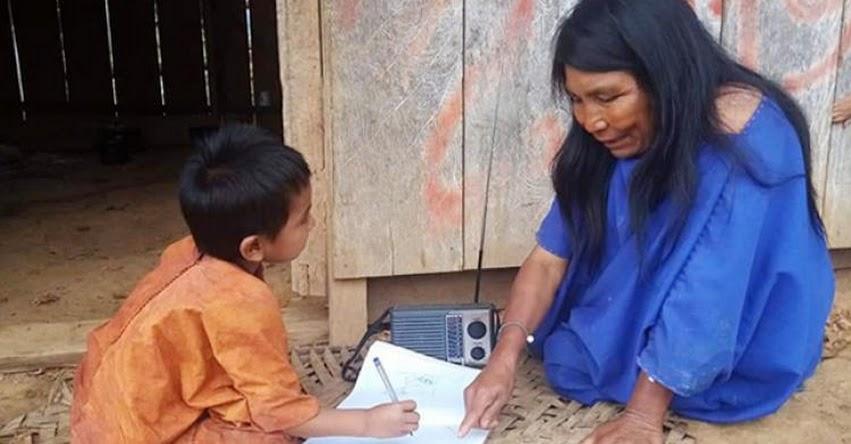 MINEDU: «Aprendo en casa» mejora cobertura para escolares de 43 comunidades nativas de Ucayali - www.minedu.gob.pe
