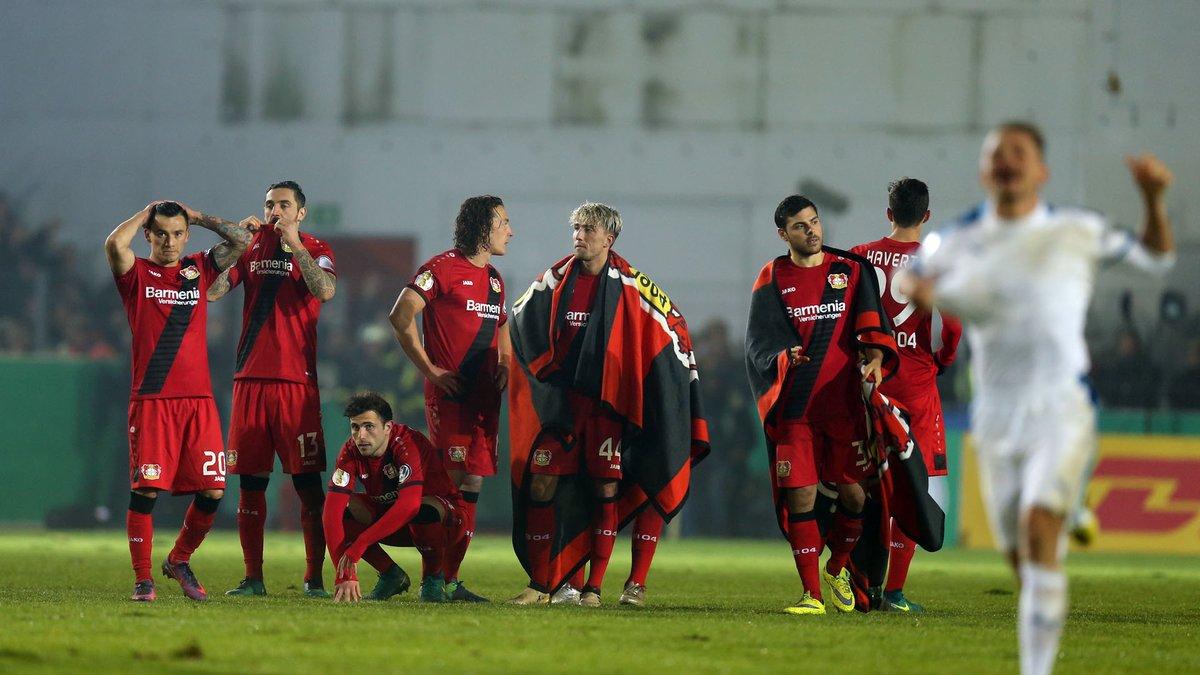 091111e499 Fim de linha para o Bayer Leverkusen na Copa da Alemanha. Nesta  terça-feira