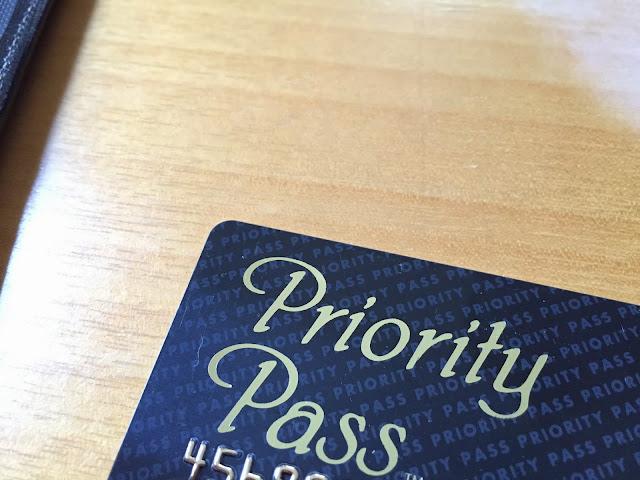 プライオリティパスカード Priority pass card