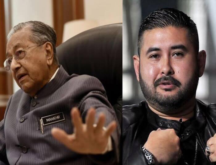 Mahathir vs TMJ