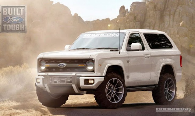 Es oficial: ¡Ford Bronco regresa en 2020!