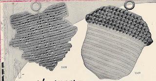 Vintage Maple Leaf Crochet Potholder Pattern