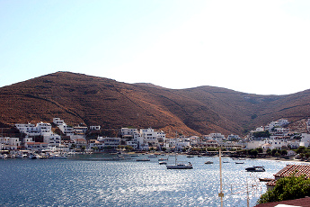 Vistas de Kithnos - Islas Griegas