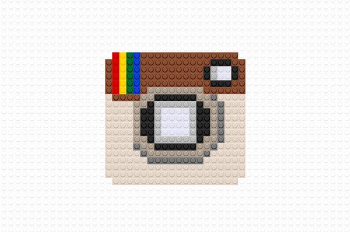 grandes marcas desenhadas com lego 07 - Logotipo de grandes empresas usando LEGO