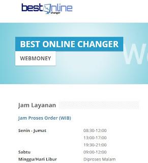 cara membeli atau mencairkan dolar webmoney z wmz melalui changer lokal