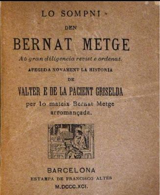 Bernat Metge (Barcelona, entre 1340 i 1346 – 1413), lo sompni
