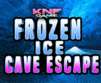 KnfGame Frozen Ice Cave Escape