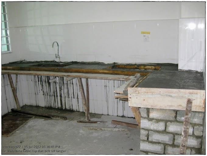 Pembinaan Table Top Bermula