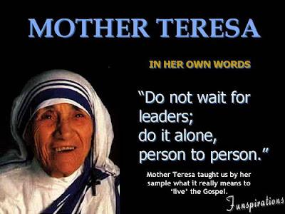 Information on mother teresa for kids