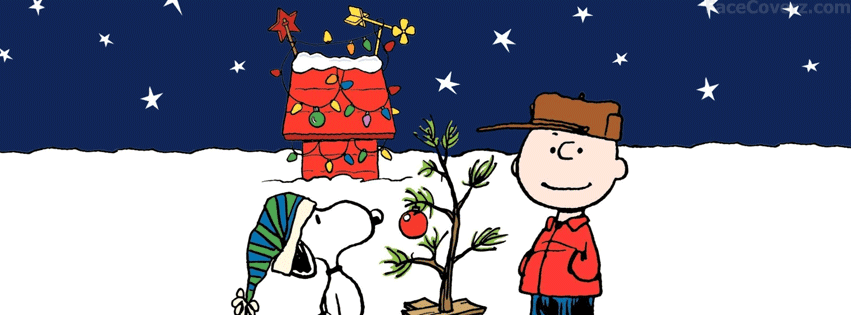 snoopy christmas facebook cover photo