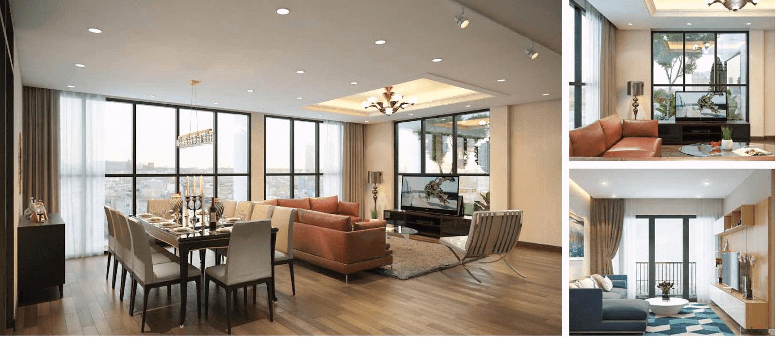 Thiết kế nội thất đặc sắc tại dự án chung cư 93 Láng Hạ