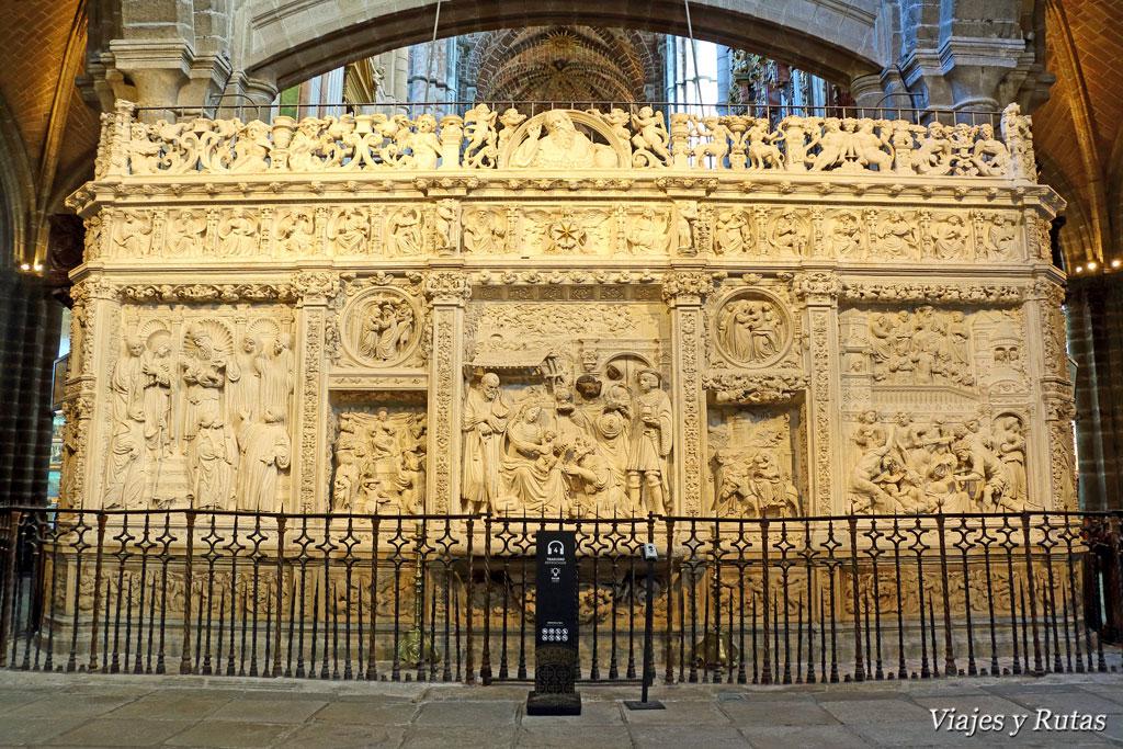 Interior de la catedral de Ávila