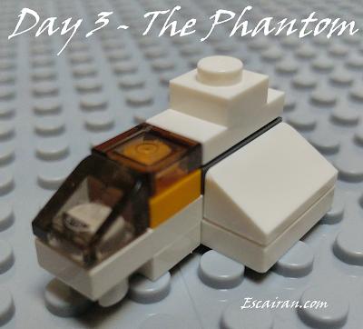 Lego Star Wars advent calendar 2017 day 3. The phantom