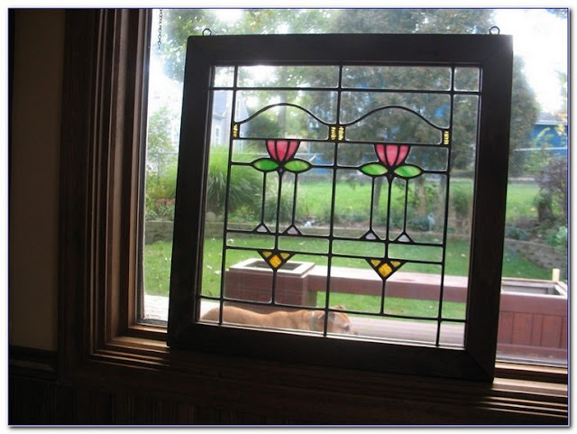 Buy Craftsman Style Stained GLASS WINDOWS For Sale online