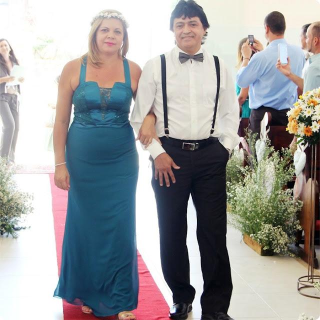 mãe da noiva casamento de dia