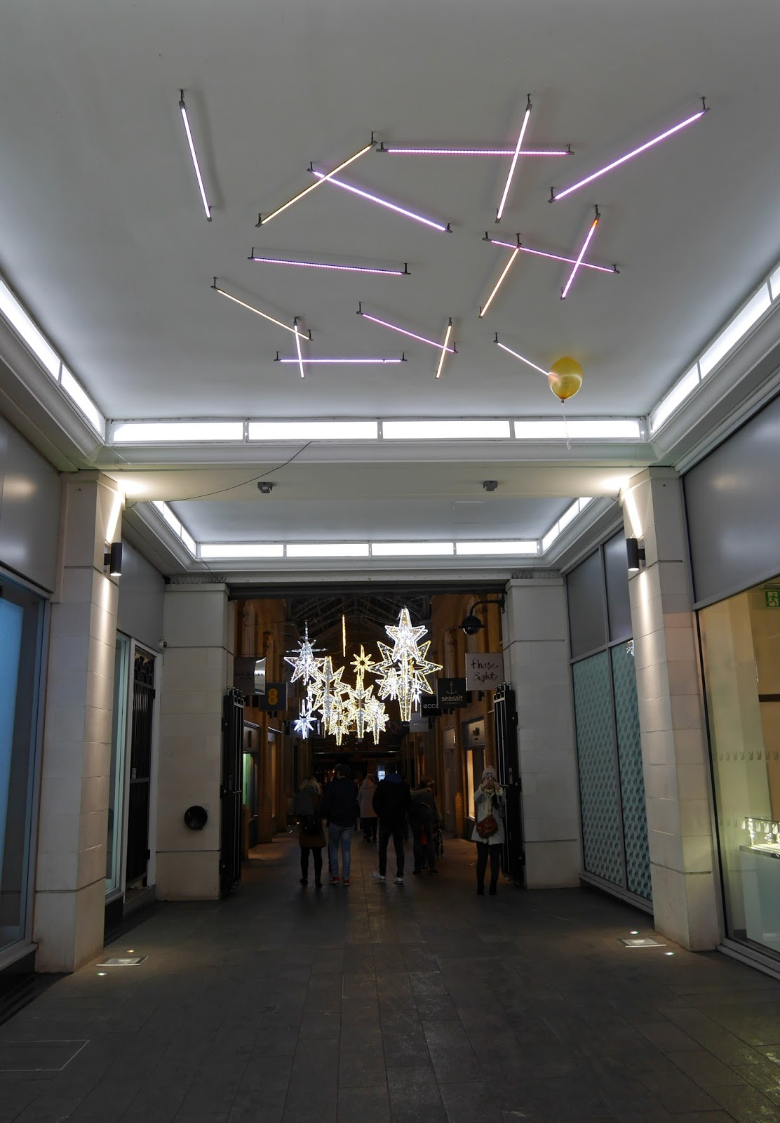 Marlowe Arcade Christmas Lights, Canterbury