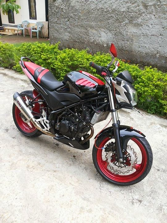 Modifikasi Honda CB150R StreetFire 2013