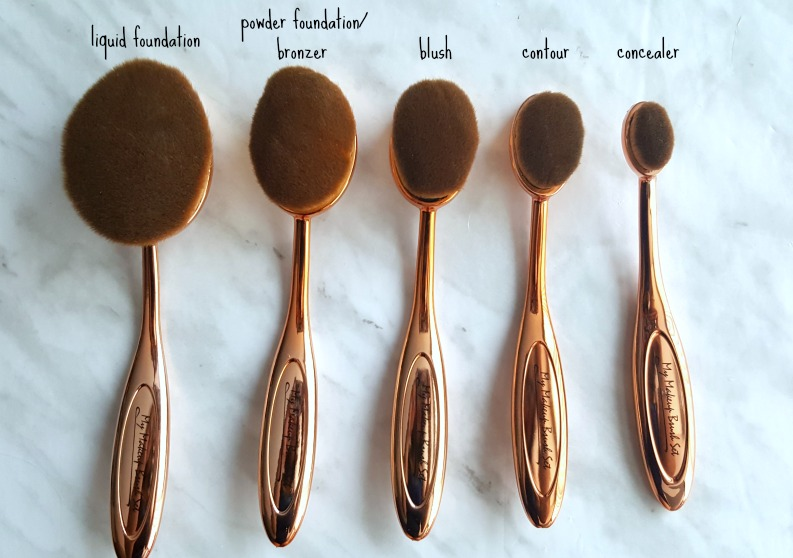 My Makeup Brush Set Review*, Canadian beauty blogger, artis dupe ...