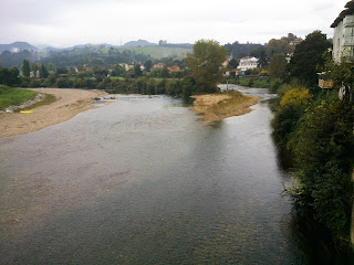 Detalle del rio Sella a su paso por Arriondas