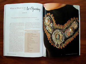 Magazine spread-neck pieces