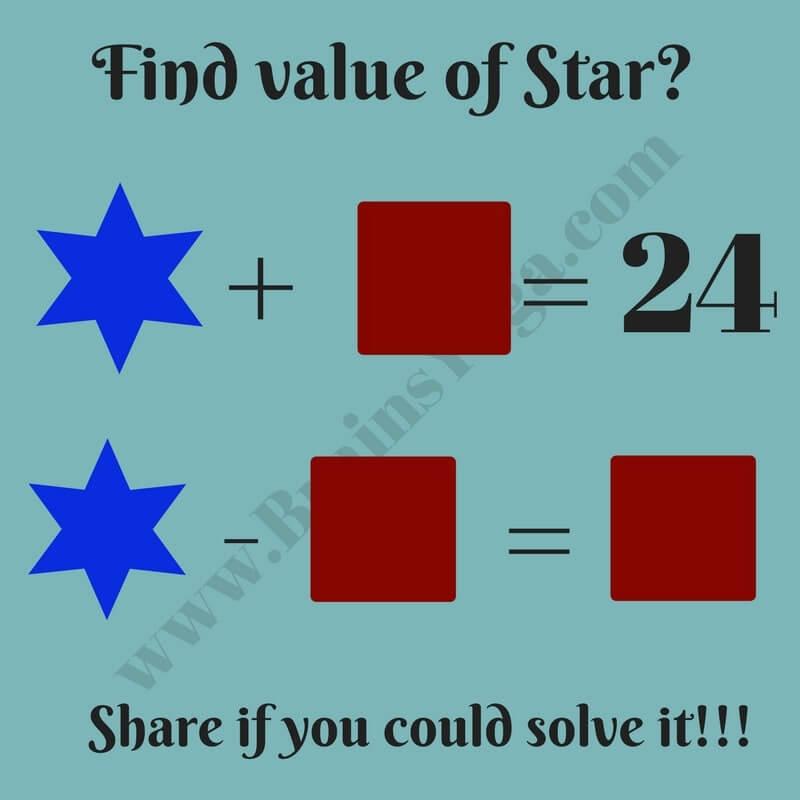 Kids Maths Puzzle Question - Brain\'s Yoga