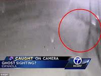 Hantu Terekam Kamera CCTV Kepolisian New Mexico