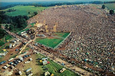 Fotografías del Festival de Woodstock