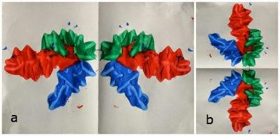 Manualidad infantil simetria
