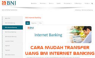 transfer internet banking bni