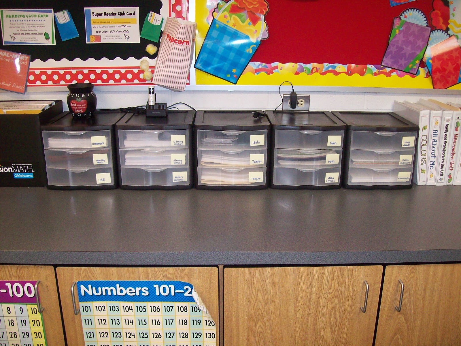 Teaching With Terhune Classroom Organization