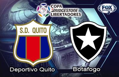 Botafogo vs Deportivo Quito en Vivo