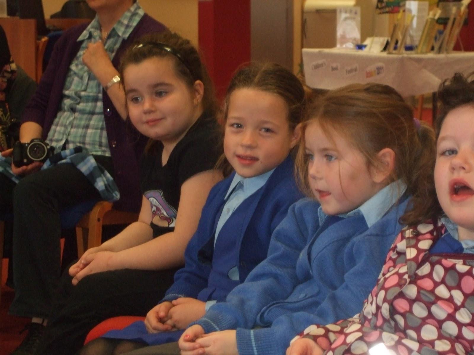Literacy Site Storyteller In Ballybane Library