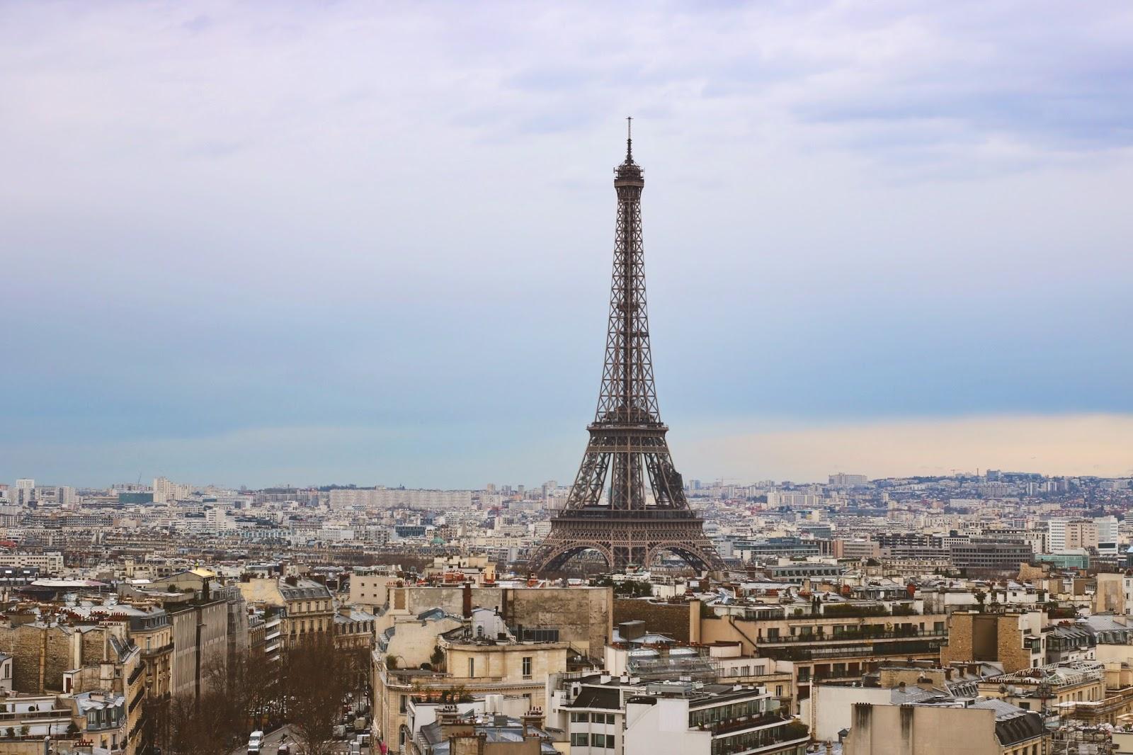 widok paryż atrakcje