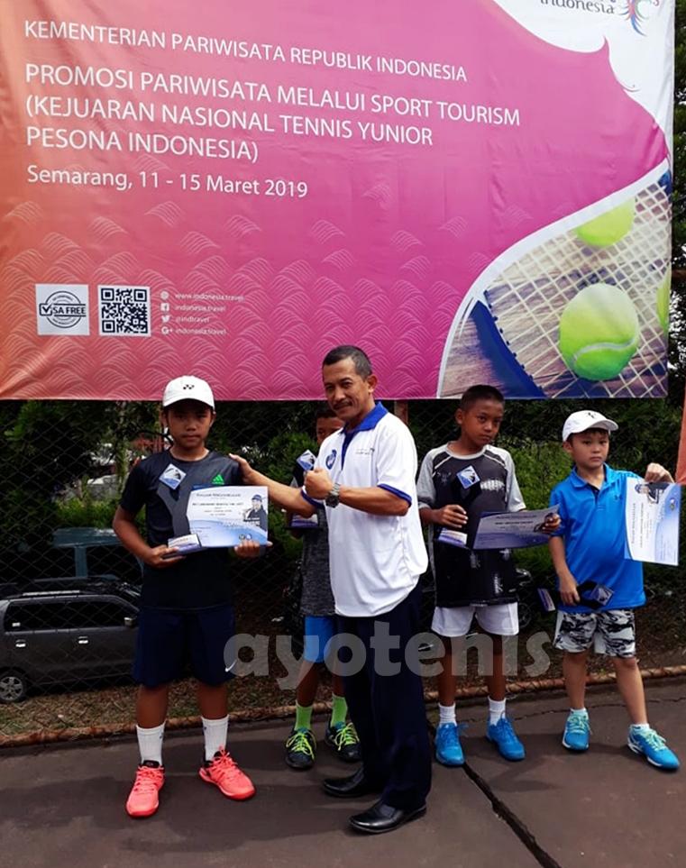 Wicaksono Wahyu Trijati Sabet Juara Piala Yayuk Basuki 2019