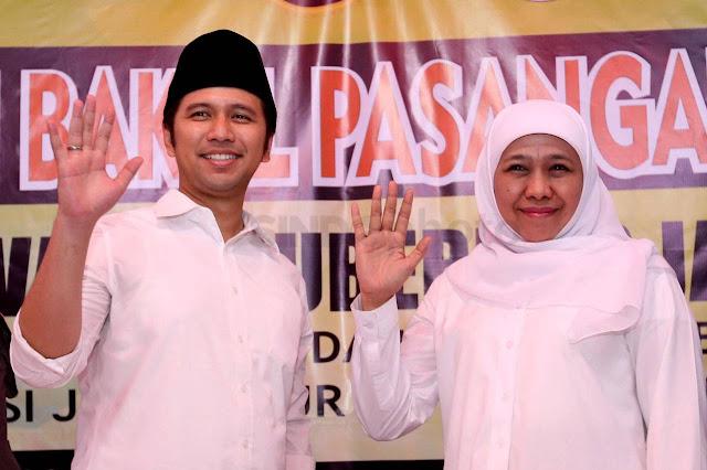 Pasca Menang Pemilu, Khofifah Dan Emil Berkunjung Ke Rumah Ketum PAN