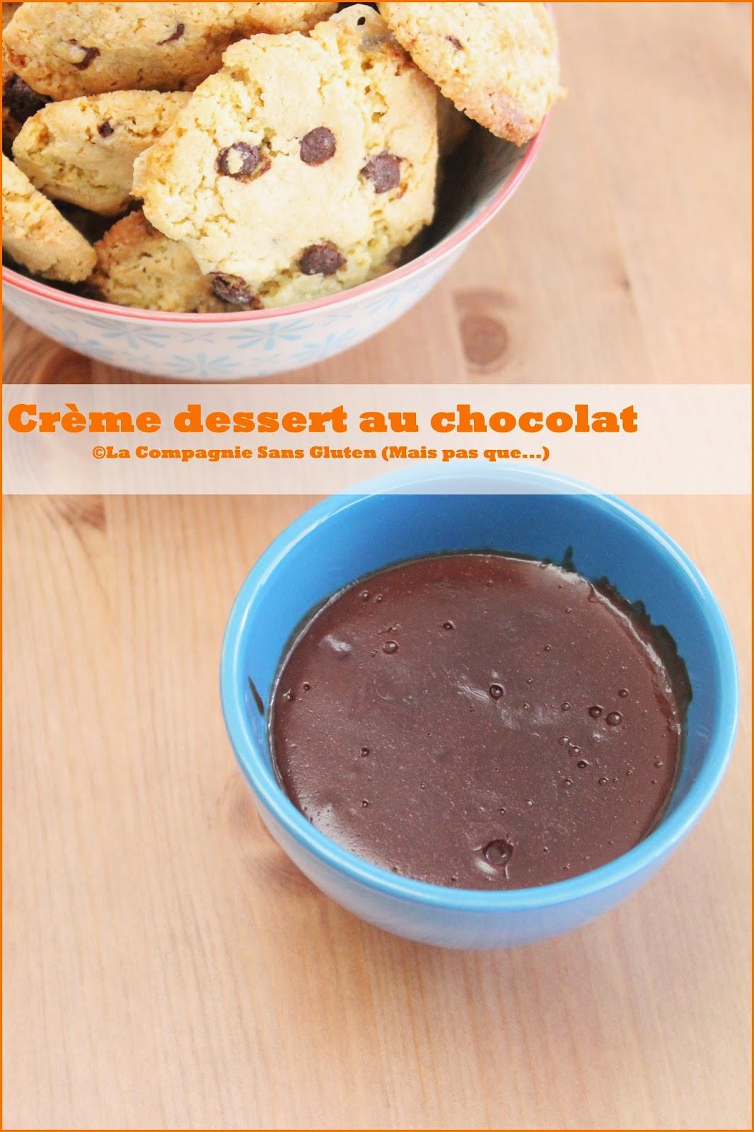cr me dessert chocolat sans gluten sans lait vegan blogs de cuisine. Black Bedroom Furniture Sets. Home Design Ideas