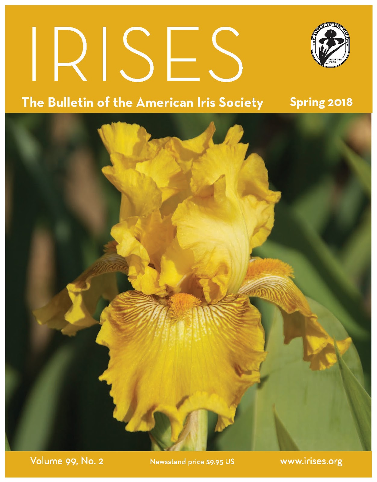 World of irises march 2018 featured on the cover is summer honey betty wilkerson 2013 tb re photo by carole buchheim izmirmasajfo