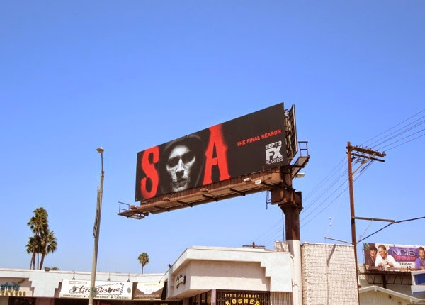 Sons of Anarchy season 7 FX billboard