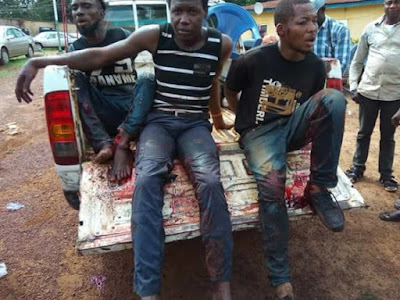Young Criminals Caught While Robbing Women