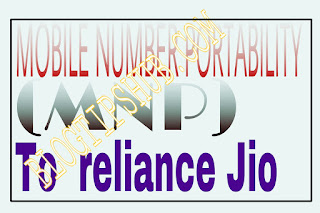 Mobile number port to reliance jio