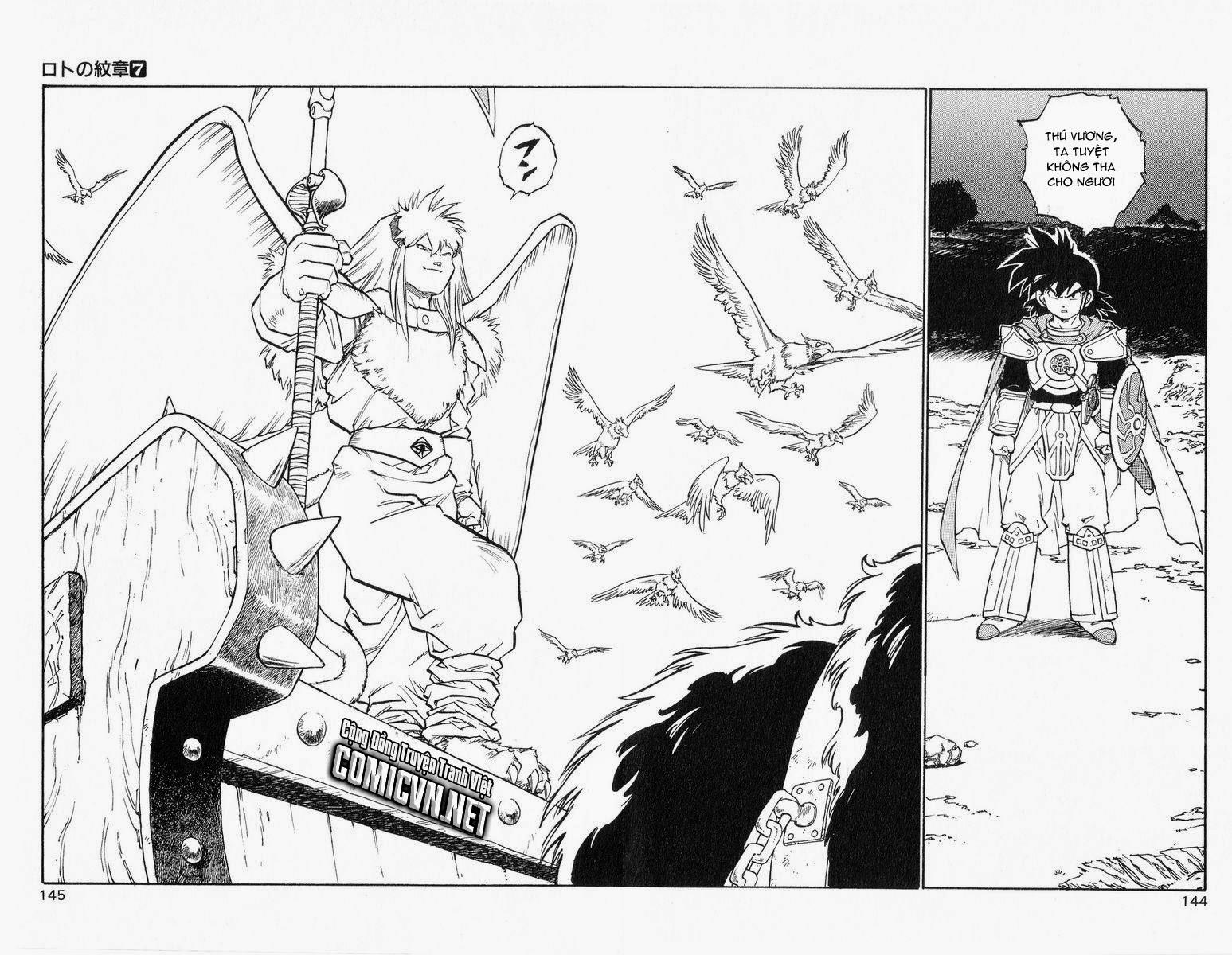 Dragon Quest: Emblem of Roto chapter 25 trang 35