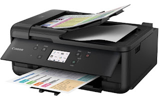 was created to move your trusty partner amongst printing Canon PIXMA TR7520 Drivers Download