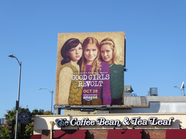 Good Girls Revolt season 1 billboard